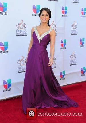 Jackie Guerrido  Univision's Premio Lo Nuestro a La Musica Latina Awards at American Airlines Arena  Miaim, Florida- 17.02.11