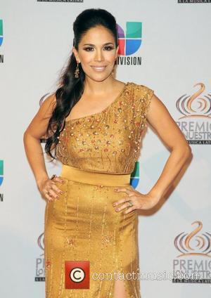 Karla Martinez  Univision's Premio Lo Nuestro a La Musica Latina Awards at American Airlines Arena  Miaim, Florida- 17.02.11