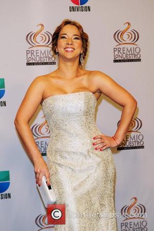 Adamari Lopez Univision's Premio Lo Nuestro a La Musica Latina Awards at American Airlines Arena - Press Room Miami, Florida...
