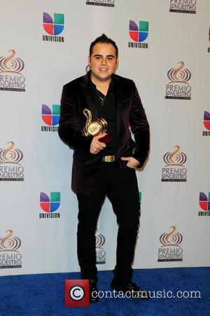 Gerardo Ortiz  Univision's Premio Lo Nuestro a La Musica Latina Awards at American Airlines Arena - Press Room Miami,...