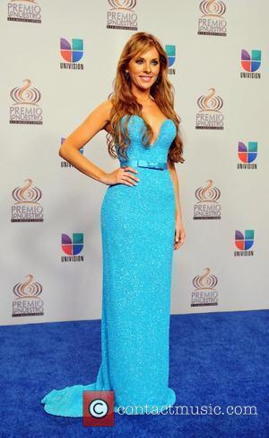 Vanessa Villela  Univision's Premio Lo Nuestro a La Musica Latina Awards at American Airlines Arena - Press Room Miami,...