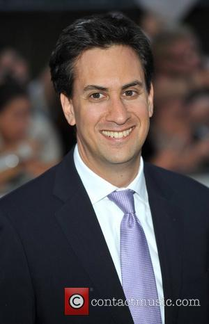 Ed Miliband and Grosvenor House