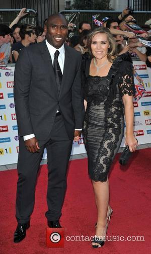 Sol Campbell and Fiona Barratt 2011 Pride of Britain Awards held at the Grosvenor House - Arrivals. London, England -...