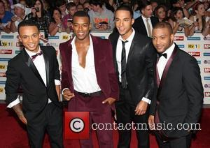 Aston Merrygold Marvin Humes, Jonathan Gill JB, Oritse Williams The Pride of Britain Awards 2011 - Arrivals London, England -...