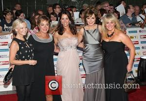 Lisa Maxwell, Denise Welch, Andrea McLean, Carol Vorderman, Sally Lindsay Loose Women The Pride of Britain Awards 2011 - Arrivals...