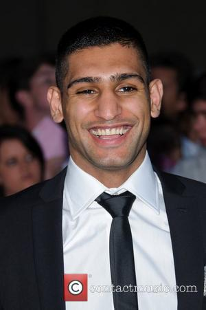 Amir Khan The Pride of Britain Awards 2011 - Arrivals London, England - 03.10.11