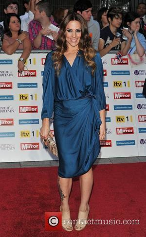 Melanie Chisholm 2011 Pride of Britain Awards held at the Grosvenor House - Arrivals. London, England - 03.10.11
