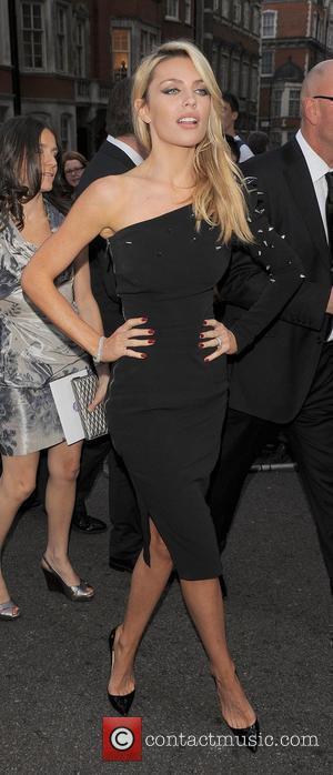 Abigail Clancy and Grosvenor House