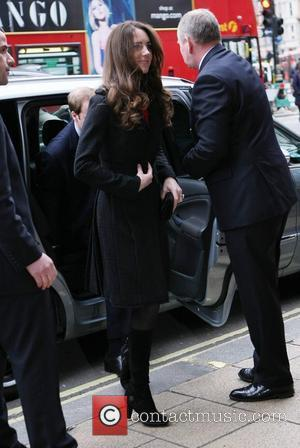 Kate Middleton, Prince Harry and Prince William