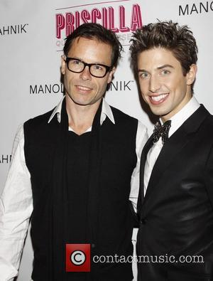 Guy Pearce and Nick Adams Opening night after party for the Broadway musical production of 'Priscilla Queen Of The Desert'...