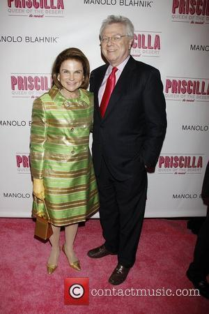 Tovah Feldshuh and Andrew Levy  Opening night of the Broadway musical production of 'Priscilla Queen Of The Desert' at...