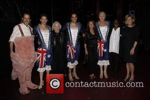 David Johnson, Nick Adams, Liz Smith, Will Swenson, Marlo Thomas, Tony Sheldon, Whoopi Goldberg and Cynthia McFadden Real Divas meet...