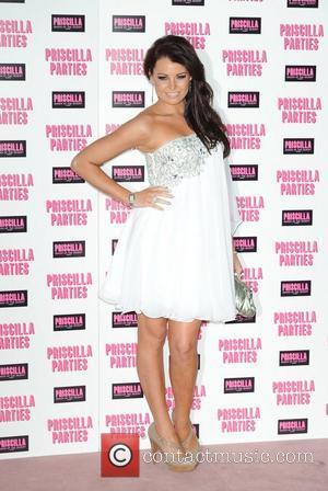 Jessica Wright Priscilla Parties - launch held at The Palace Theatre, Shaftesbury Avenue - Arrivals. London, England - 24.01.11