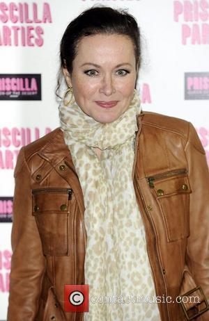 Amanda Mealing  Priscilla Parties - launch held at The Palace Theatre, Shaftesbury Avenue - Arrivals. London, England - 24.01.11