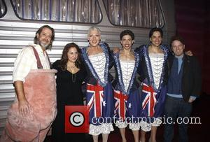 David Johnson, Andrea Martin, Nathan Lane and Nick Adams
