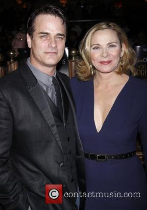 Paul Gross, Kim Cattrall and Times Square