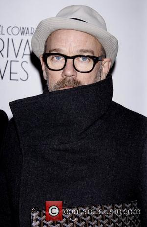 Michael Stipe Broadway Opening night of 'Private Lives' at the Music Box Theatre - Arrivals. New York City, USA -...