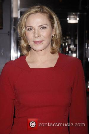 Kim Cattrall Meet and greet with the cast and director of 'Private Lives' held at Paramount Bar at the Paramount...