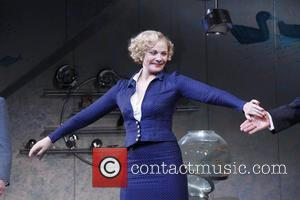 Kim Cattrall Broadway Opening night of 'Private Lives' at the Music Box Theatre - Curtain Call. New York City, USA...