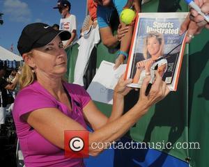 Chris Evert  The Chris Evert/Raymond James Pro-Celebrity Tennis Classic Pro-Am at the Delray Tennis Center - arrivals Delray Beach...