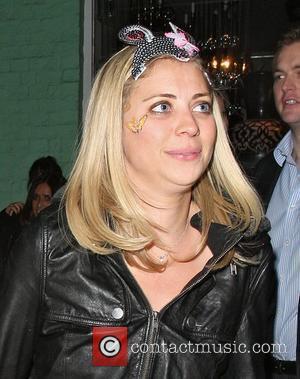 Holly Branson leaves Public Nightclub. London, England - 18.02.11