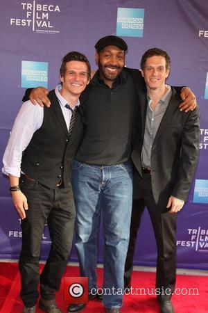 Mark Kassen, Jesse L Martin, Adam Kassen, Director, Producers at the premiere of 'Puncture' at the 2011 TFF at the...