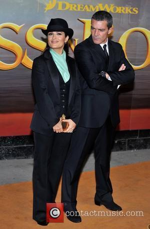 Antonio Banderas, Salma Hayek and Empire Leicester Square