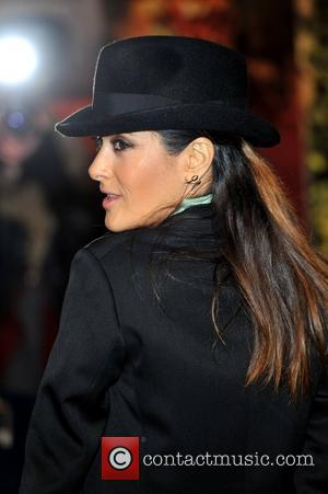 Salma Hayek and Empire Leicester Square