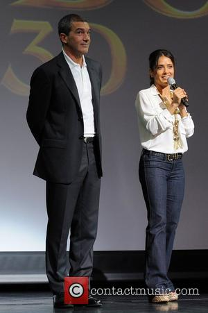 Antonio Banderas, Dreamworks, Fort Lauderdale and Salma Hayek