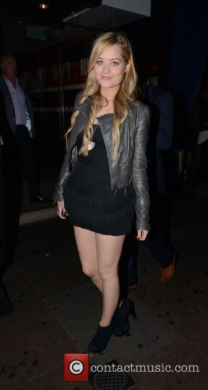 Laura Whitmore and Cafe De Paris
