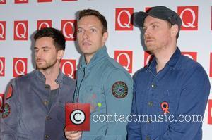 Guy Berryman, Chris Martin, Coldplay and Grosvenor House