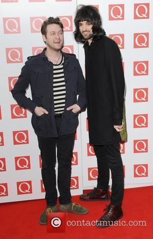 Tom Meighan and Sergio Pizzorno of Kasabian  The Q Awards 2011  London, England - 24.10.11