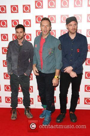 Jonny Buckland, Chris Martin, Coldplay, Guy Berryman and Grosvenor House