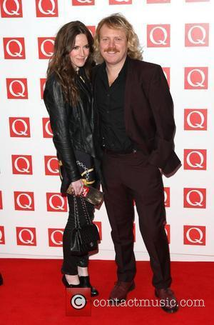 Leigh Francis aka Keith Lemon with his wife Jill Carter The Q Awards 2011 held at Grosvenor House hotel -...