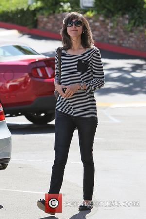 Quentin Tarantino's friend who accompanied him to Cafe Med restaurant on Sunset Plaza Los Angeles, California - 30.04.11