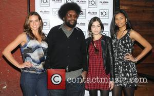 Ahmir 'Questlove' Thompson and Sasha Grey at the Ahmir 'Questlove' Thompson Cook-Off & Private Dinner at Vintage Wine Bar and...