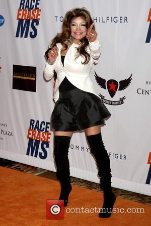 La Toya Jackson and Paris Hilton
