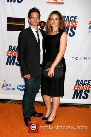Greg Rikaart and Clementine Ford 18th Annual Race To Erase MS held at the Hyatt Regency Century Plaza - Arrivals...