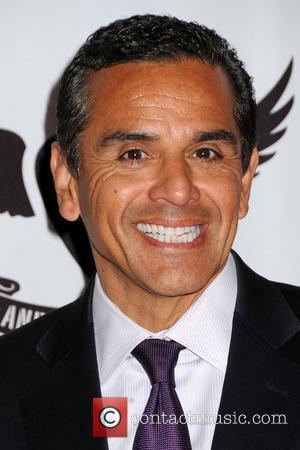 Antonio Villaraigosa, Mayor of Los Angeles   18th Annual Race To Erase MS held at the Hyatt Regency Century...