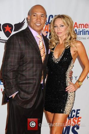 Hines Ward and Kym Johnson