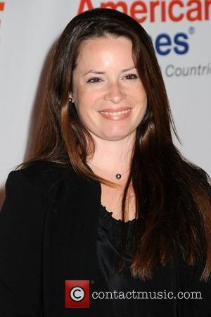 Holly Marie Combs   18th Annual Race To Erase MS held at the Hyatt Regency Century Plaza - Arrivals...
