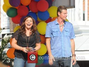 Rachael Ray and Ty Pennington Rachael Ray conducts the Great Philly Grill-Off and community celebration for an upcoming episode at...