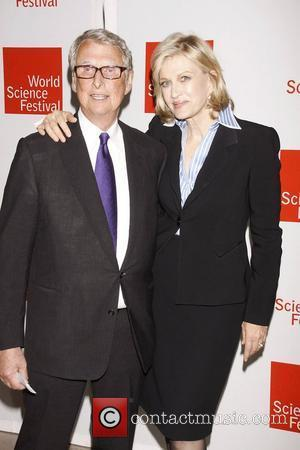 Mike Nichols and Diane Sawyer  Opening night gala celebration of the 2011 World Science Festival, an all-star reading of...