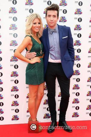 Mollie King, Nick Grimshaw and The Saturdays