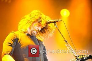 Dave Grohl Foo Fighters perform during BBC Radio 1's Big Weekend 2011 in Carlisle - Performance  Cumbria, England -...