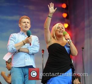 Patrick Kielty and Vanessa Feltz