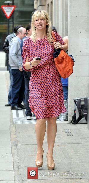 Zoe Ball outside the BBC Radio 2 studios London, England - 02.06.11