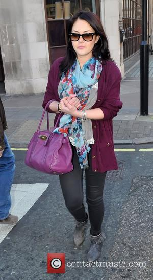 Lacey Turner outside the BBC Radio One studios  London, England - 07.03.11