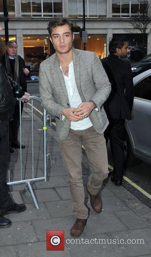 Ed Westwick Celebrities outside the BBC Radio One sudios London, England - 07.02.11