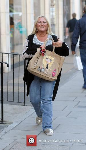 Vanessa Feltz at the BBC Radio 2 studios London, England - 28.10.11